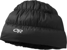 Outdoor Research Transcendent Down Beanie Herre luer Sort S/M
