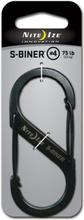 Nite Ize S-Biner #4 øvrig utstyr Sort 4