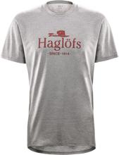 Haglöfs Camp Tee Men Herr T-shirt Grå XL