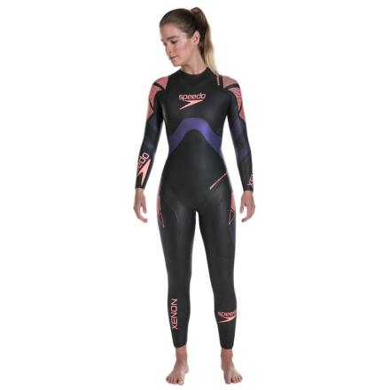 Speedo Women's Fastskin Xenon Wetsuit Dam Simdräkt Svart S