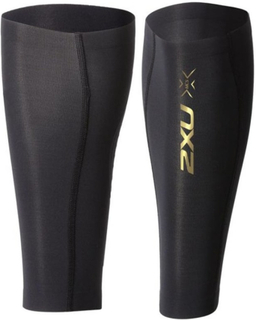 2XU Elite Mcs Comp Calf Guard-u Unisex accessoirer Sort XS