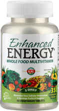 Enhanced Energy® Whole Food Multivitamin 90 St Tabletten