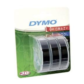 Tape 9mmx3m black (3) - Engsig.dk