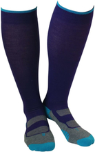 Gococo Compression Wool Herr Träningsstrumpor Lila L (40-45)