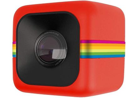 Polaroid Cube HD 1080p livsstil handling videokamera (rød)
