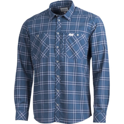 dd2cece7 Lundhags Jaksa Longsleeve Shirt (2018) Herre langermede skjorter Blå S