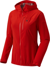 Mountain Hardwear Women's Stretch Ozonic Jacket Dam Regnjacka Röd XS