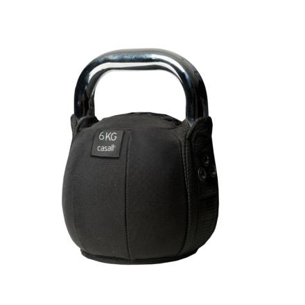 Casall Kettlebell Soft 8kg träningsredskap Svart OneSize