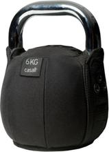 Casall Kettlebell Soft 6 Kg träningsredskap Sort OneSize