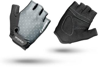 GripGrab Women's Rouleur Padded Short Finger Glove Dame treningshansker Grå L