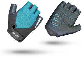 GripGrab Women's ProGel Padded Short Finger Glove Dame treningshansker Grønn 7