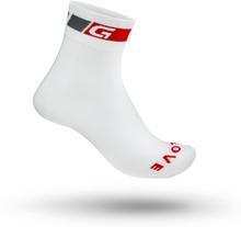 GripGrab Classic Regular Cut Sock Unisex Träningsstrumpor Vit 38-41