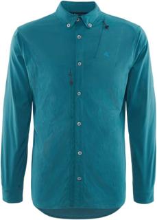 Klättermusen Tyr Shirt Men's Herre langermede skjorter Blå S