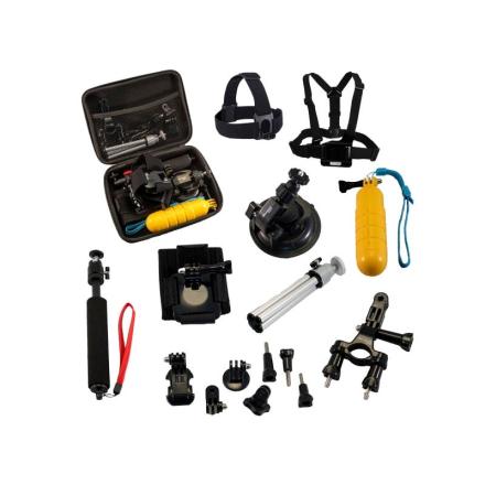 Other Action Accessory Kit Elektroniktillbehör Grå 1SIZE