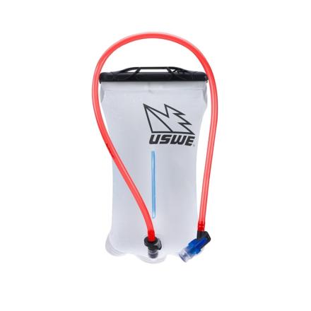 Uswe Shape-Shift Bladder 1,5L Vattenbehållare Grå OneSize