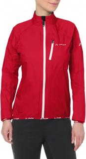 VAUDE Women's Drop Jacket Iii Dame treningsjakker ufôrede Rød 40