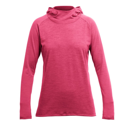 Devold Patchell Woman Hoodie Dam Tröja Rosa M