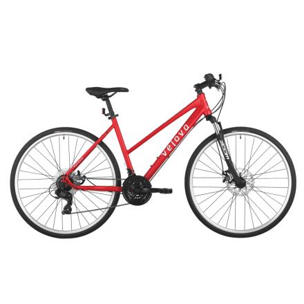 Velova Gotland Women's G2 Hybridcykel Röd 50 cm