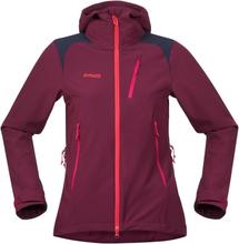Bergans Cecilie Mountaineering Jacket Dame softshelljakker Lilla S