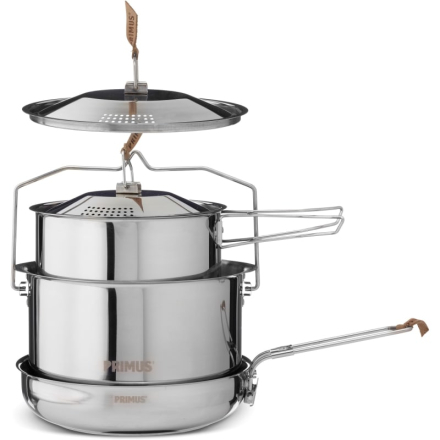 Primus CampFire Cookset S/S - Large Köksutrustning OneSize