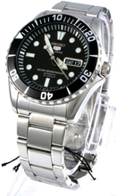 Seiko Men's Five Sports Stainless Steel Water 100M Resist Automatic Uhr SNZF17J1