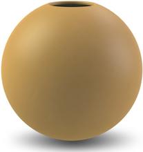Ball vas Ø20cm, ochre