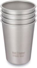 Klean Kanteen Steel Cup 296ml - 4 Pack Serveringsutrustning Metall 300