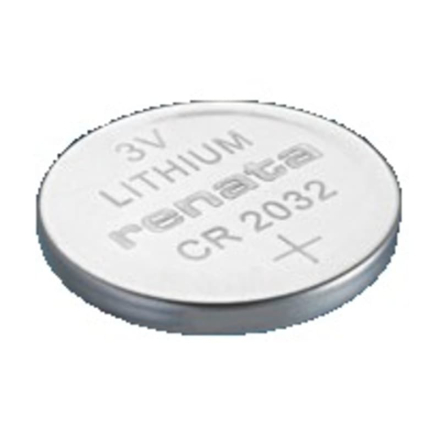 Renata 3V Lithium Coin Cells CR2032 MFR Batteri Grå OneSize