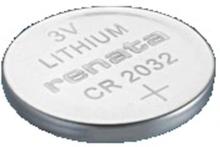 Renata 3V Lithium Coin Cells CR2032 MFR Batteri Grå OneSize