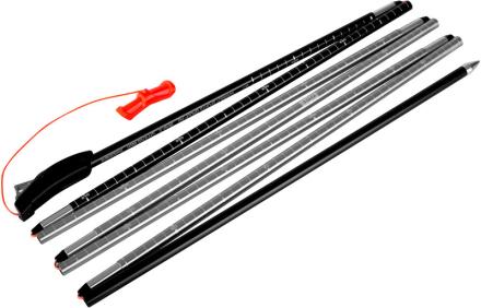 Mammut Probe 280 Fast Lock Lavinesonde sort/sølv 2018 Lavinesonder