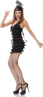 Frynse Flapper Kostyme