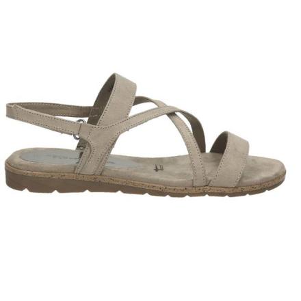 Sandale, mittelgrau