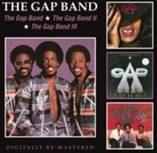 The Gap Band - The Gap Band/The Gap Band II/The Gap Band III (Audio CD)