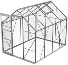Växthus Bruka 5,0 m²-Aluminium-Glas-Nej