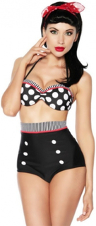 Pin up polka dot bikini