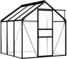 Drivhus antrasitt 190x190com - 3,61 m²