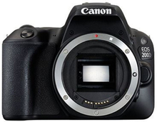 Canon EOS 200D SLR-Digitalkamera Gehäuse - Schwarz