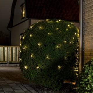 Konstsmide lysnet med 96 LED-lys