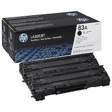 HP 83A Lasertoner combo pack 2 stk - CF283AD Original - Sort 3000 sider