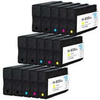 HP 934 BK XL / HP 935 C XL combo pak 15 stk - Kompatibel - BK/C/M/Y 453 ml