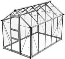 Växthus Odla 6,0 m²-Aluminium-Glas