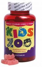 Kids Zoo Propolis + Holunder + Hagebutte + Vitamin-C 60 stk