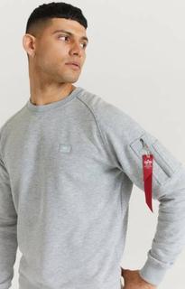 Alpha Industries Sweatshirt X-Fit Sweat Grå