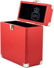 """GPO 7"""" vinyl case, red"""