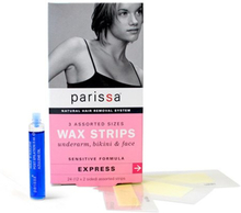 Parissa Wax strips Ansigt, Bikinilinie, Armhuler (1 pk)