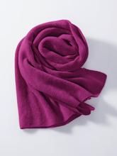 Schal aus 100% Premium-Kaschmir Peter Hahn Cashmere lila