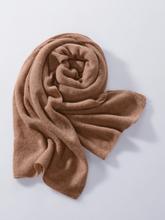 Schal aus 100% Premium-Kaschmir Peter Hahn Cashmere braun