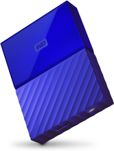 Western Digital My Passport 2.5 Zoll USB 3.0 Externes Laufwerk 4TB WDBYFT0040BBL - Blau