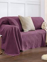 Überwurf für Couch und Bett ca. 160x270cm Peter Hahn pink