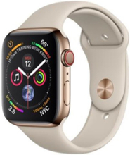 Watch Series 4 (GPS + Cellular) 44mm - Gold Stainless Steel with Stone Sport Band